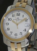 Pre-Owned BAUME & MERCIER CAPELAND 18KT GOLD AND STEEL