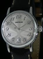 Pre-Owned MONTBLANC STAR QUARTZ SILVER DIAL