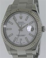 Pre-Owned ROLEX DATEJUST II  STEEL AND 18KT