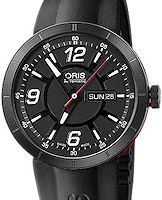 Pre-Owned ORIS WILLIAMS TT1 DAY/DATE BLACK