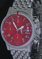 Pre-Owned TUTIMA RED FLIEGER LIMITED EDITION