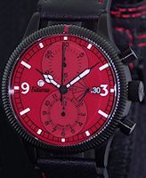 Pre-Owned TUTIMA CHRONO POWER RESERVE RED