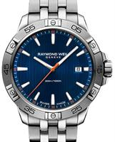 Pre-Owned RAYMOND WEIL TANGO 300 DATE BLUE DIAL