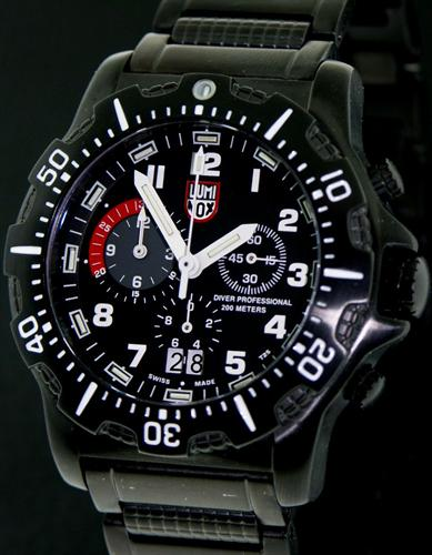 Luminox navy seal dive chronograph pre owned mens watches - Navy seal dive watch ...