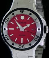 Pre-Owned MOVADO 800 RED DIVERS QUARTZ