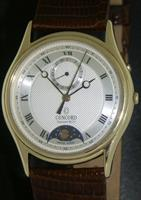 Pre-Owned CONCORD 14KT GOLD MOON PHASE CALENDAR