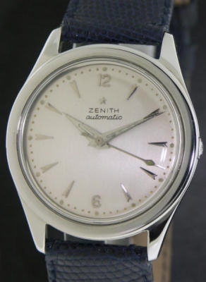 Pre-Owned ZENITH STEEL CLASSIC AUTOMATIC
