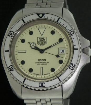 Pre-Owned TAG HEUER 1000 DIVER WITH LUMINOUS DIAL