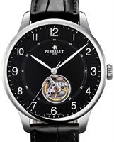 Pre-Owned PERRELET FIRST CLASS OPEN HEART BLACK