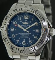 Pre-Owned BREITLING SUPEROCEAN BLUE DIAL AUTOMATIC
