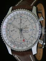 Pre-Owned BREITLING NAVITIMER IVORY GMT