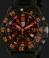 Pre-Owned LUMINOX EVO NAVY SEAL ORANGE CHRONO