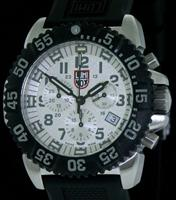 Pre-Owned LUMINOX EVO SEAL SILVER SPECKLE DIAL