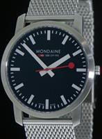 Pre-Owned MONDAINE LARGE CASE SAPPHIRE CRYSTAL