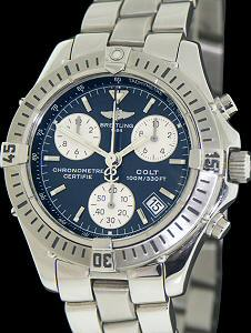 Pre-Owned BREITLING COLT QUARTZ CHRONO BLUE