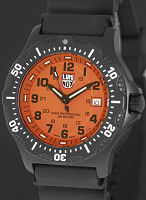 Pre-Owned LUMINOX BLACK OPS ORANGE DIAL