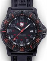 Pre-Owned LUMINOX BLACK DIAL CARBON CASE