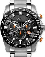 Pre-Owned BELAIR CHRONOGRAPH BLACK/ORANGE DIAL