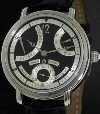 Pre-Owned MAURICE LACROIX MASTERPIECE RETROGRADE