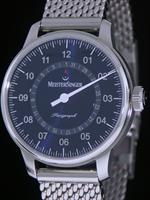 Pre-Owned MEISTERSINGER PERIGRAPH BLUE WITH DATE