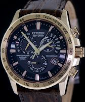 Pre-Owned CITIZEN RADIO CONTROLLED ROSE GOLD