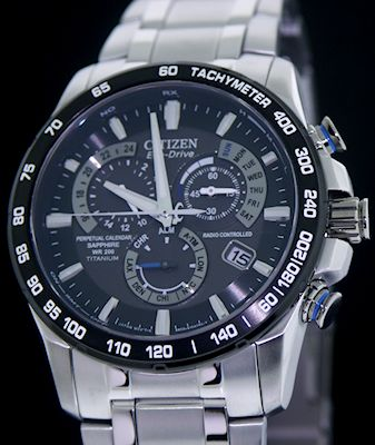 citizen eco drive radio controlled manual