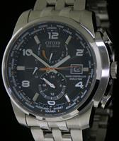 Pre-Owned CITIZEN WORLD TIME RADIO CONTROLLED