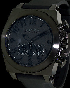 brera orology militare 50 all black brmlc5003 pre owned mens watches