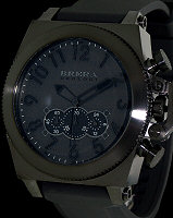 Pre-Owned BRERA OROLOGY MILITARE 50 ALL BLACK