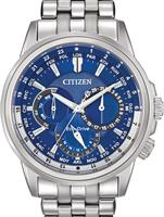 Pre-Owned CITIZEN CALENDRIER BLUE DIAL STEEL