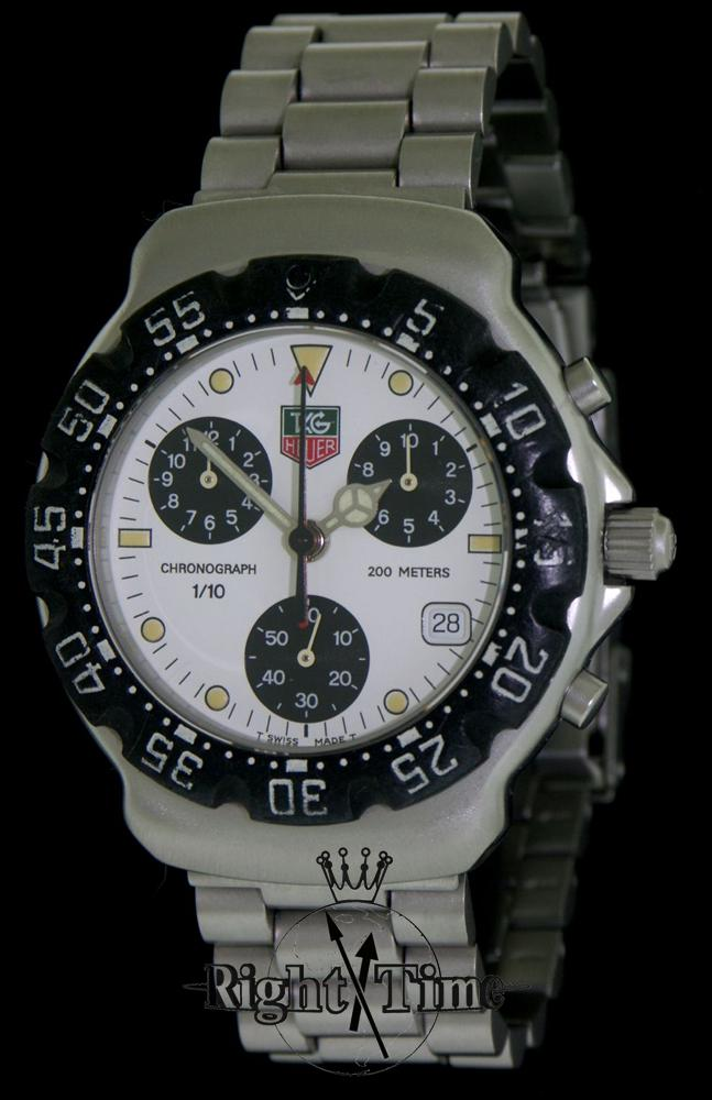 Tag Heuer Watches White Face