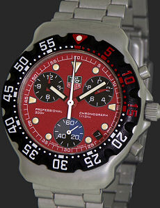 tag heuer formula 1 chronograph red ca1215 ba0493 pre owned mens tag heuer formula 1 chronograph red ca1215 ba0493 pre owned mens watches