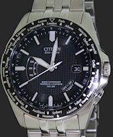 Pre-Owned CITIZEN WORLDTIMER STEEL