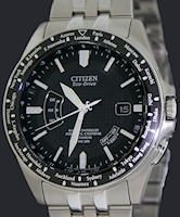 Pre-Owned CITIZEN RADIO CONTROLLED ALL TITANIUM