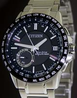 Pre-Owned CITIZEN SATELLITE WAVE ALL STEEL