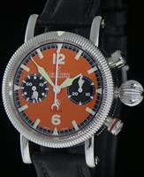 Pre-Owned CHRONOSWISS TIMEMASTER ORANGE CHRONOGRAPH
