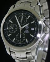 Pre-Owned TAG HEUER LINK AUTOMATIC CHRONOGRAPH