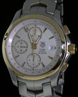 Pre-Owned TAG HEUER LINK AUTOMATIC 18KT BEZEL