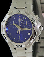 Pre-Owned TAG HEUER KIRIUM  BLUE QUARTZ CHRONO