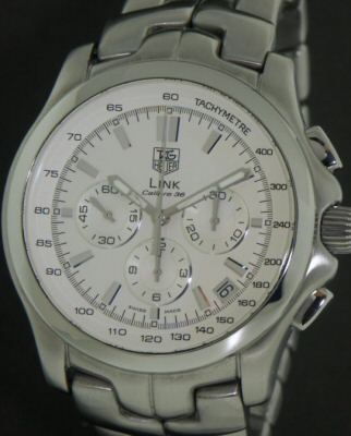 f14949976a3 Tag Heuer Link Calibre 36 Fast Beet Auto ct511b - Pre-Owned Mens Watches