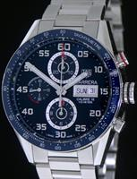 Pre-Owned TAG HEUER CARRERA CHRONOGRAPH BLUE
