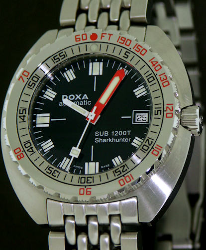 Pre-Owned DOXA SUB 1200T SHARKHUNTER