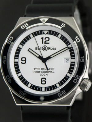Pre-Owned BELL & ROSS TYPE DEMINEUR DIVER