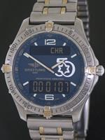 Pre-Owned BREITLING AEROSPACE TITANIUM ISRAEL 50TH