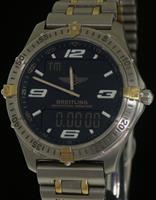 Pre-Owned BREITLING AEROSPACE REPETITION MINUTES