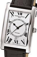 Pre-Owned FREDERIQUE CONSTANT CARREE SILVER DIAL RECTANGULAR