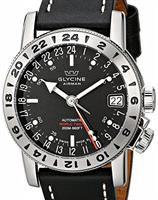 Pre-Owned GLYCINE AIRMAN 17 GMT AUTO