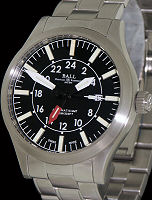 Pre-Owned BALL ENGINEER MASTER II AVIATOR GMT