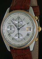 Pre-Owned GIRARD PERREGAUX 18KT ROSE GOLD & STEEL CHRONO
