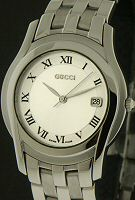Pre-Owned GUCCI SWISS QUARTZ BRACELET